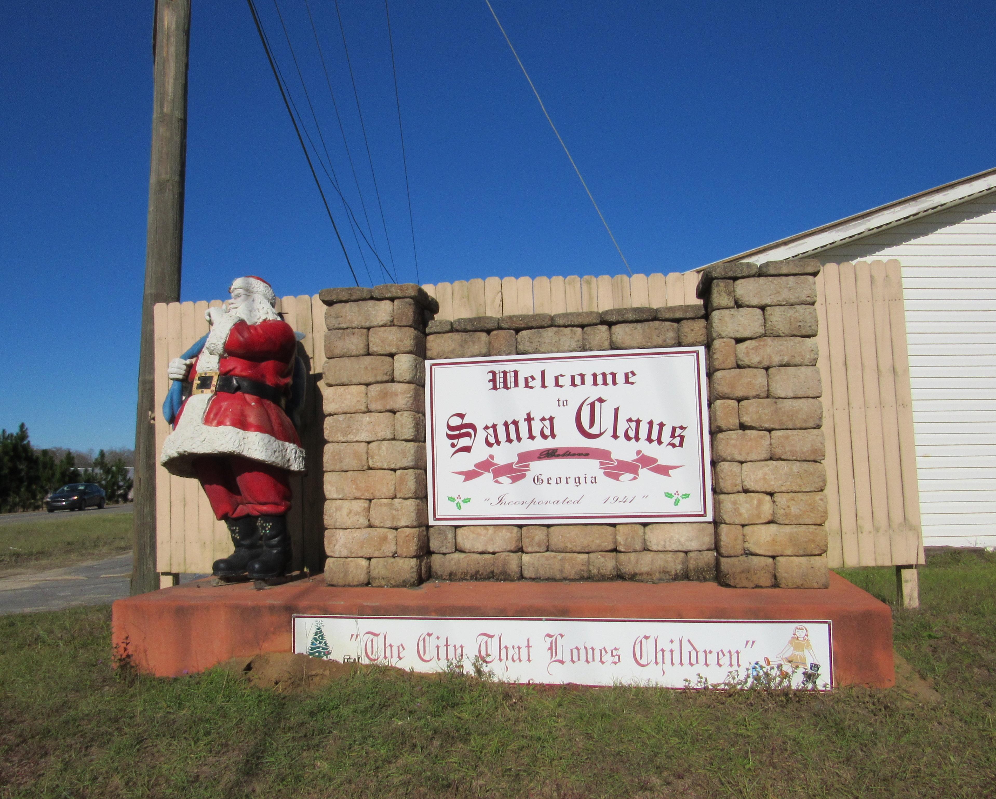 Santa Clause Georgia