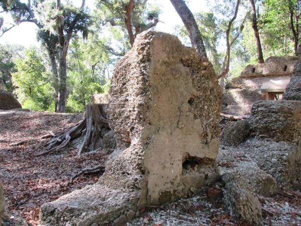 House ruins tabby construction